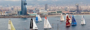 Lavinia produce la cobertura audiovisual de la regata Barcelona World Race