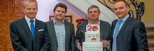 EVS y Mediapro brindan juntos por 20 años de éxitos