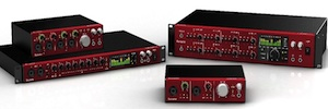 Focusrite lanza Clarett, una completa gama de interfaces de audio Thunderbolt