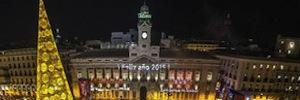 Sapec instaló el circuito para la transmisión de las campanadas desde la Puerta del Sol por parte de TVE