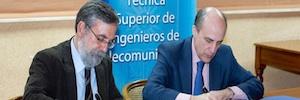 Se crea la Cátedra RTVE – E.T.S.I. de Telecomunicación de la UPM