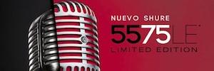 Shure conmemora el 75 aniversario del mítico 55 Unidyne