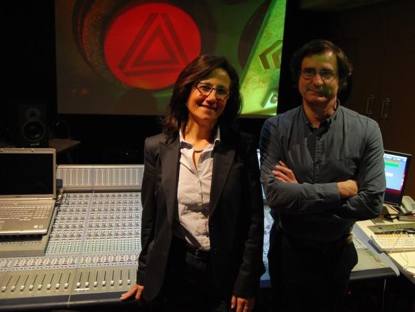 Esther Gómez y Víctor Castillo en Best Digital