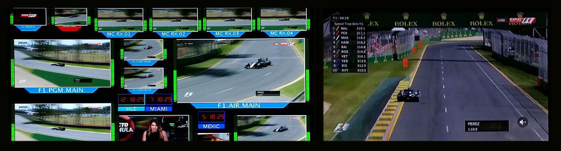 Mediapro utiliza soluciones de EVS para aumentar la capacidad de producción de su nuevo canal F1