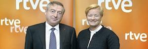 La directora general de la UER, Ingrid Deltenre, visita RTVE
