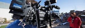 La cadena americana ABC utiliza conexiones en vivo desde las cámaras GY-HM890 de JVC