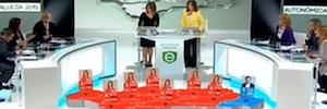 TVE cubre por vez primera una noche electoral con ayuda de la realidad aumentada y en HD