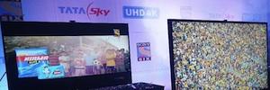 Ericsson permite a Tata Sky lanzar el primer servicio comercial de vídeo 4K de la India