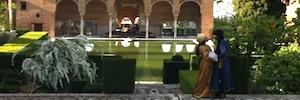 Diagonal Tv rodará en la Alhambra algunas secuencias de la serie de TVE 'Carlos, Rey Emperador'