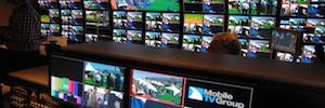 MTVG exhibe en NAB su imponente unidad móvil 4K dotada de cámaras Grass Valley y ópticas Fujinon