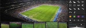 Orad presenta en NAB Spark Tracked Telestrator para la producción de deportes