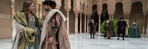 La Alhambra y la Qubba de Granada abren sus puertas al rodaje de 'Carlos, Rey Emperador'