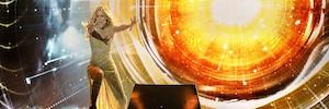 Gestmusic ultima los detalles de la escenografía que arropará a Edurne en Eurovisión