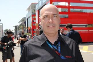 Dario Rossi, de Riedel, en la Fórmula 1