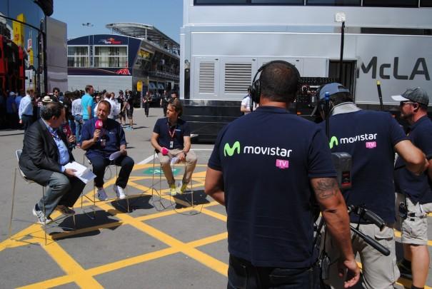 Movistar Tv en la Fórmula 1
