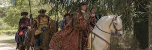 TVE rueda 'La corona partida', el largometraje que enlazará 'Isabel' y 'Carlos, Rey Emperador' en la gran pantalla