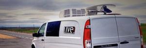 Live! Audiovisual lleva a cabo el mayor despliegue de unidades de móviles en banda Ka y LTE 4G