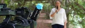 Sennheiser AVX: microfonía inalámbrica lista para usar junto a camcorders