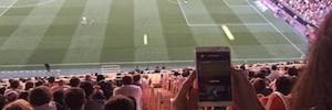 Vodafone pone a prueba la tecnología LTE Broadcast en Mestalla