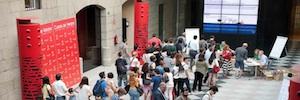 Hispasat proporciona un año más enlace vía satélite a los Cursos de Verano de El Escorial