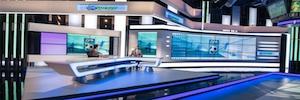 Eyevis, protagonista de los videowalls que integran el nuevo estudio de OTE Sport