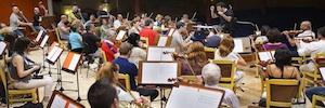 La Orquesta Sinfónica de RTVE graba la banda sonora de los XVII Premios Iris de la Academia de Televisión