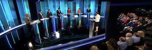 Riedel suministró su tecnología a Dock10 para el debate electoral británico