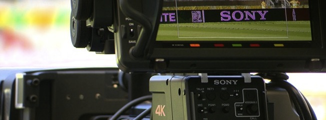 La final de la Champions League, capturada en directo en 4K con la HDC-4300 de Sony