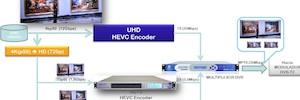 Sapec demuestra con éxito la integración de HEVC y 4K