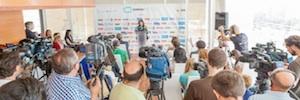 Más de 6.000 asistentes acudieron a la segunda edición de Screen Tv en Málaga