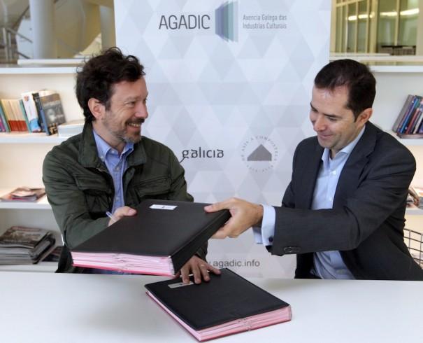 Agadic y media espa a firman un acuerdo de colaboraci n for Convenio oficinas madrid