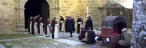 TVE rueda en el Monasterio de Yuste el tramo final de 'Carlos, Rey Emperador'