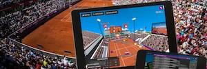 Ericsson recopiló datos del Collector Swedish Open de tenis generando aplicaciones digitales envolventes
