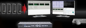 ¿Cómo visualizar 32 ordenadores desde una única estación de trabajo individual?