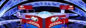 Get Set construye un innovador plató para Abu Dhabi Sports Channel
