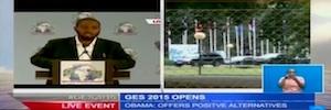 Kenya Television Network cubre con Quicklink Backpack y Quicklink Skype TX la visita de Obama