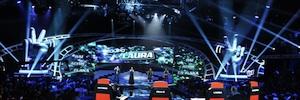 'La Voz' utilizó la tecnología de iluminación de Robe en su tercera temporada en Telecinco