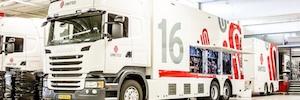La holandesa United utiliza el sistema VSM en su nueva unidad móvil