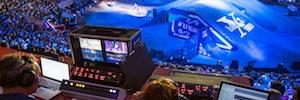 Riedel facilitó la comunicación y la gestión de señales en el Red Bull X-Fighters en Las Ventas