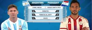 wTVision prestó una cobertura especial con motivo de la Copa América