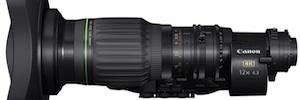 "Canon lanza el CJ12ex4.3B, un objetivo broadcast portátil 4K 2/3"" con longitud focal de 4,3mm"