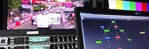 RAI empleó todo el potencial de la red MediorNet de Riedel en el último Giro de Italia