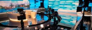 NRK instala en su plató principal de informativos un sistema robótico de Shotoku