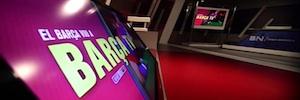 Telefónica vuelve a confiar en VSN para la renovación de las instalaciones de Barça TV
