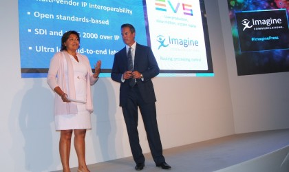 Imagine Communications y EVS en IBC 2015