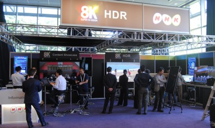 NHK 8K en IBC 2015