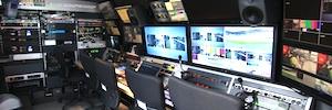 AMP Visual TV integra las soluciones de Riedel en sus nuevas unidades móviles DSNG