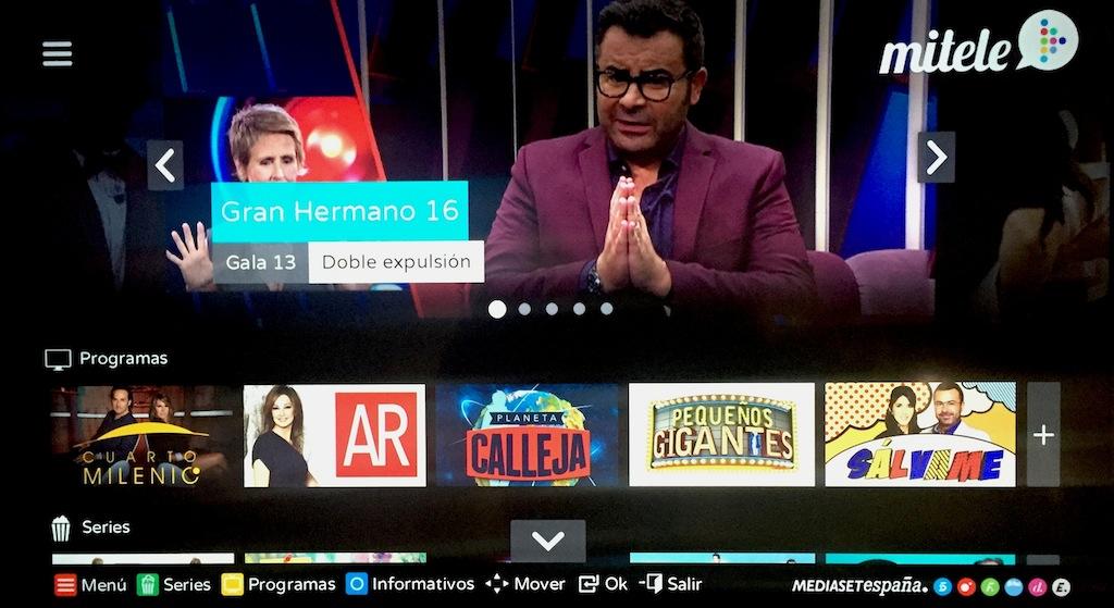 Mediaset Spanien bieten seine besten Inhalte in Mitele HD.
