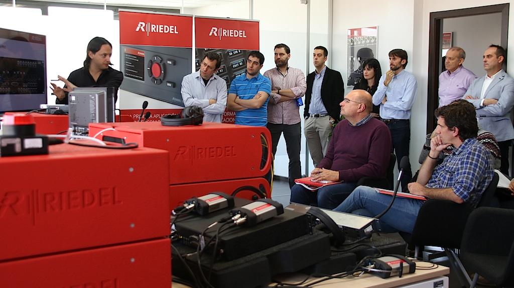 Riedel inaugura su nueva oficina en madrid for Oficinas de ing en madrid