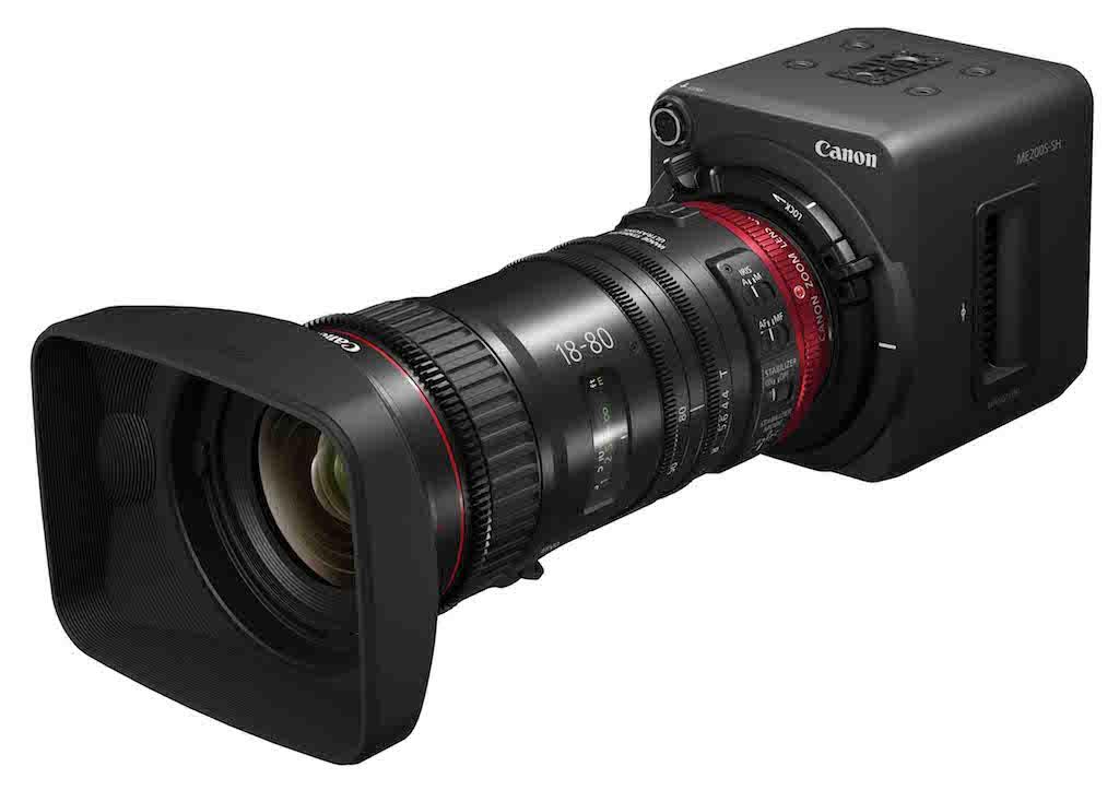 La cámara compacta profesional multipropósito ME200S-SH de Canon ...